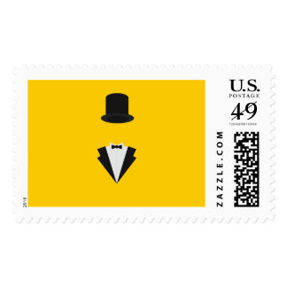top-hat and smoking stamp