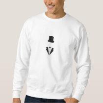 top-hat and smoking sweatshirt