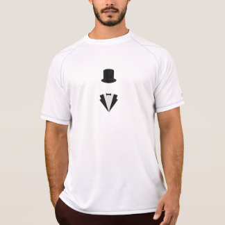 top-hat and smoking T-Shirt