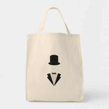 Professional Business top-hat and smoking tote bag