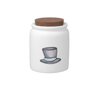 TOP HAT CANDY JAR