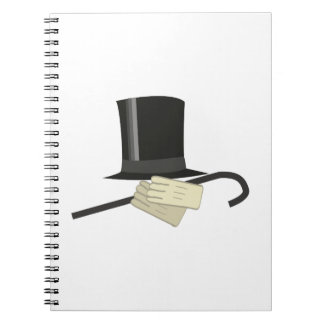 Top Hat Cane Notebook