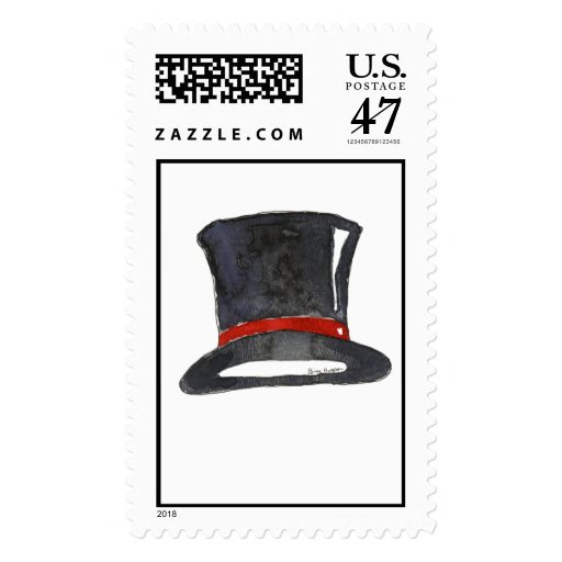 Top Hat Custom Postage