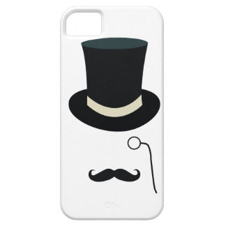 Top hat eyeglass iPhone 5 cover