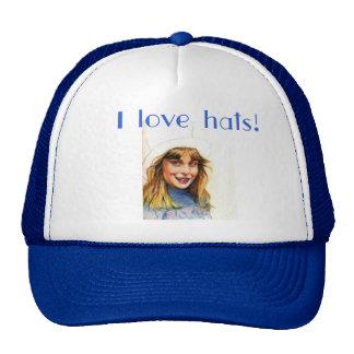 Top-hat girl