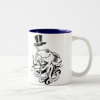 Top Hat, I CHOMP therefore I AM Two-Tone Coffee Mug