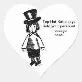 Top Hat Katie Stickers