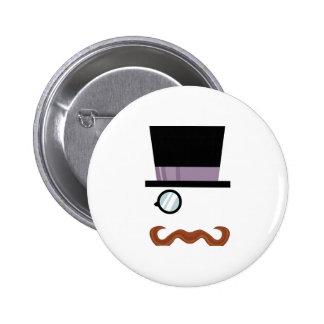 Top Hat Man Pins