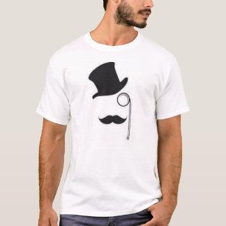 Top-hat, Monocle and Moustache T-shirt