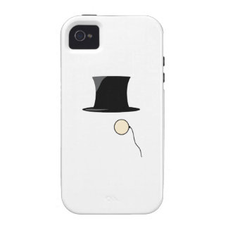 Top Hat Monocle Case-Mate iPhone 4 Case