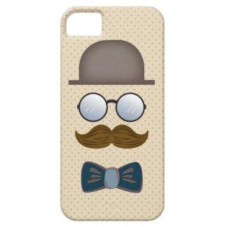 Top Hat, Moustache, Glasses and Bow Tie iPhone 5 Covers