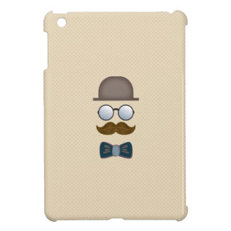 Top Hat, Moustache, Glasses and Bow Tie iPad Mini Covers