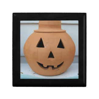 Top Hat Pumpkin Keepsake Box