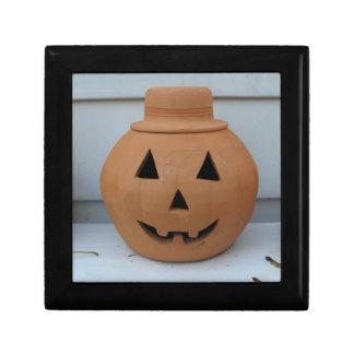 Top Hat Pumpkin Keepsake Box