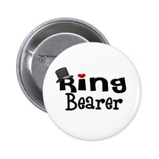 Top Hat Ring Bearer Buttons