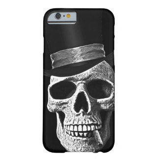 Top hat skull barely there iPhone 6 case