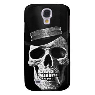 Top hat skull samsung galaxy s4 case