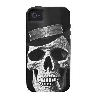 Top hat skull Case-Mate iPhone 4 cases