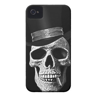 Top hat skull iPhone 4 covers