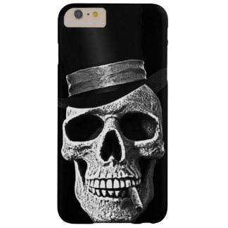 Top hat skull barely there iPhone 6 plus case