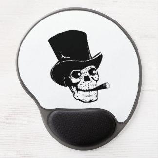 Top Hat Skull Gel Mouse Pad