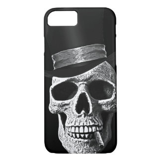 Top hat skull iPhone 7 case