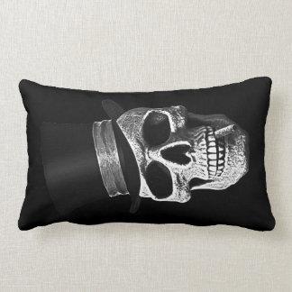Top hat skull lumbar pillow