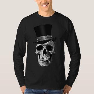 Top hat skull t shirt