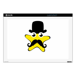 Top Hat Star Cartoon Skin For Laptop
