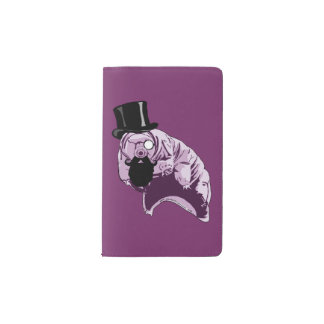 Top Hat Tardigrade Moleskine Notebook Pocket Moleskine Notebook Cover With Notebook