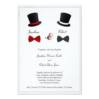 Gay Wedding Invitations Announcements Zazzle