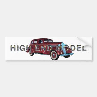 TOP High End Model Bumper Sticker