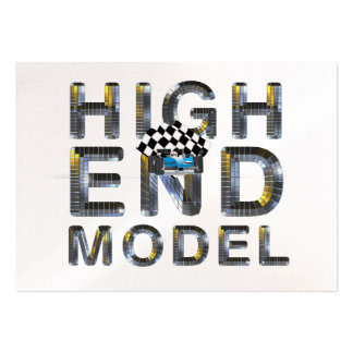 TOP High End Model Large Business Card