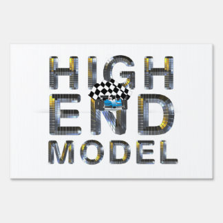 TOP High End Model Lawn Sign