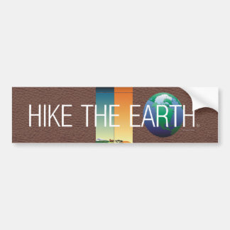 TOP Hike The Earth Bumper Stickers