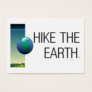 TOP Hike The Earth Business Card