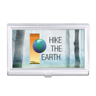 TOP Hike the Earth Business Card Case