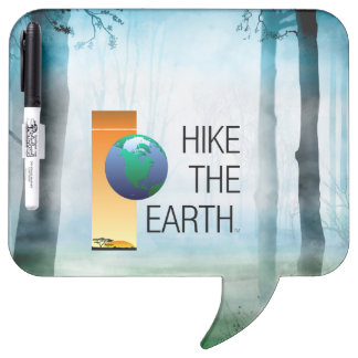 TOP Hike the Earth Dry Erase Board