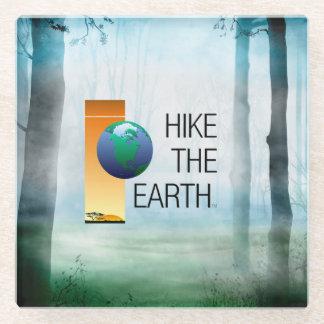TOP Hike the Earth Glass Coaster