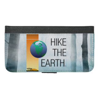 TOP Hike the Earth iPhone 6/6s Plus Wallet Case