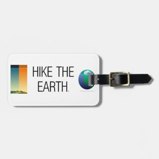 TOP Hike the Earth Luggage Tag