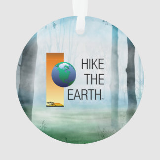TOP Hike the Earth Ornament