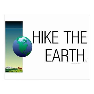 TOP Hike The Earth Postcard