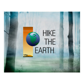 TOP Hike the Earth Poster