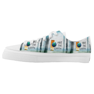 TOP Hike the Earth Printed Shoes
