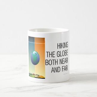 TOP Hiking the Globe Coffee Mug