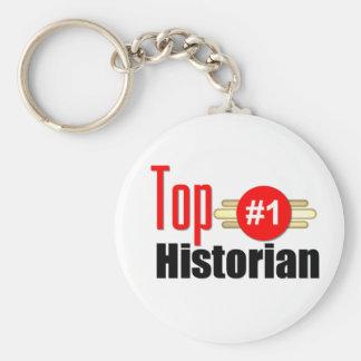 Top Historian Keychain
