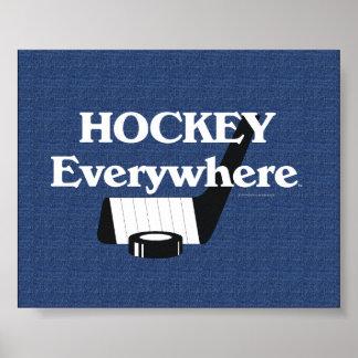TOP Hockey Everywhere Poster