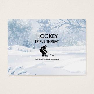 TOP Hockey Triple Threat Business Card