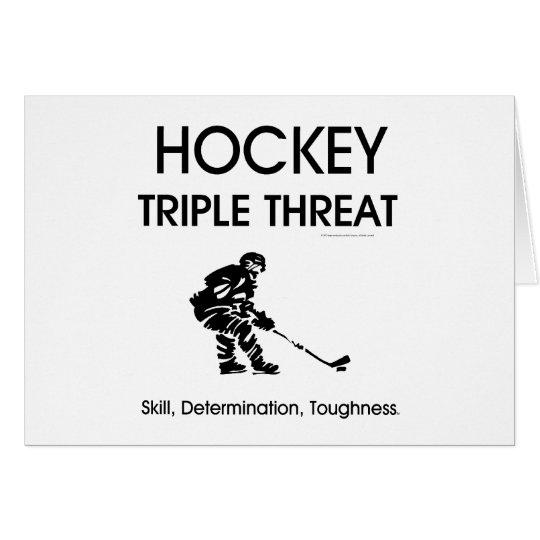 TOP Hockey Triple Threat Card